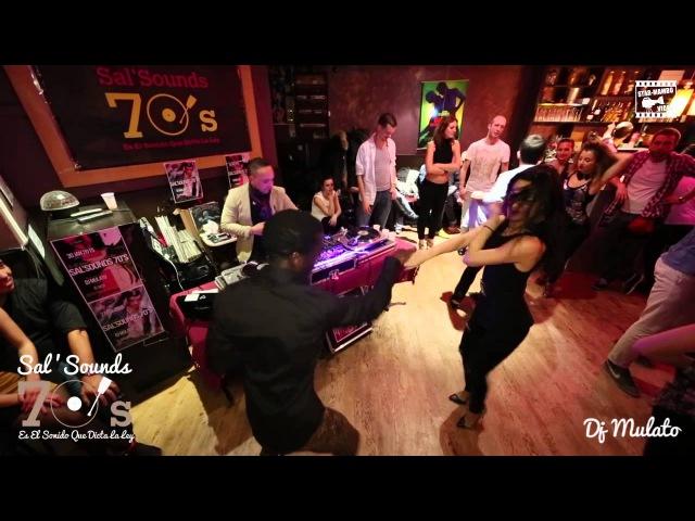 Mouaze Konaté Ella Jauk social salsa @ Sal'Sounds 70's