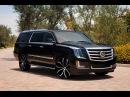Custom Cadillac Escalades on 26 Lexani Wheels Montage