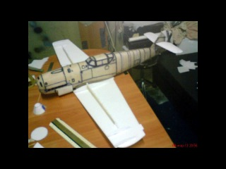 Радиоуправляемая модель. Постройка. Модель самолета Bf 109B