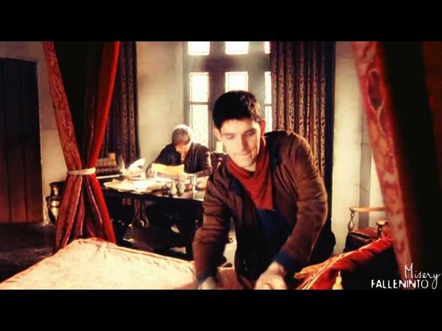 Merlin/Arthur    He is... My manservant.