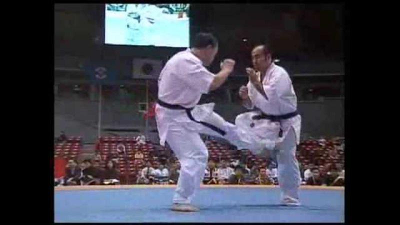 Kyokushin Karate  KO  low kick