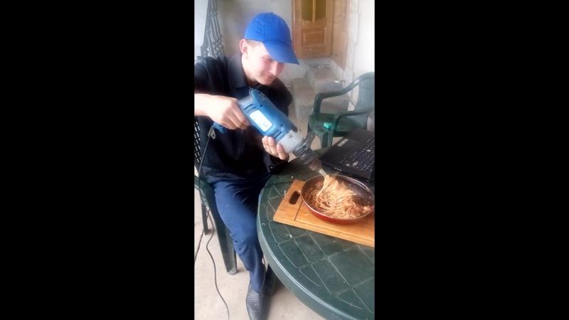 Поїдання спагетті для починаючих