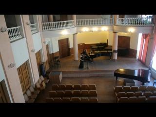 Э. Сьёгрен, соната для скрипки и фортепиано