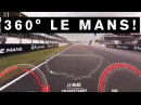 INCREDIBLE 360 DEGREE VIDEO! GT-R Drives First EVER 360 VR lap of LeMans GTR NISMO