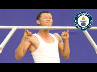 Most consecutive pinky pull-ups