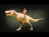 Сенсация! Неандерталец на динозавре (документальное видео)