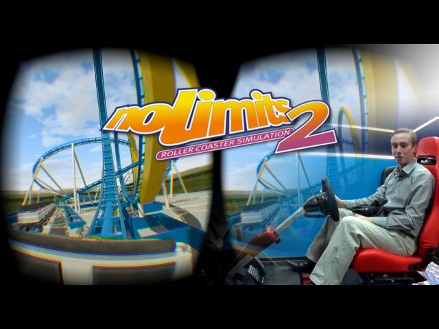Обзор игры NoLimits 2 с Oculus Rift DK2 в Virtuality Club