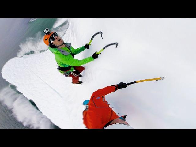GoPro To Climb An Iceberg in 4K
