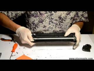 Инструкция по заправке картриджей HP 12a/Canon FX-10/Canon 703