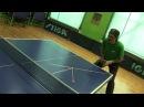 Table Tennis разновидность приёма подачи справа