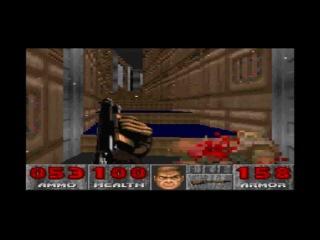 DOOM - SNES VERSION - Episode 1: Knee-Deep in the Dead - 3 STAGES + Secret Level.