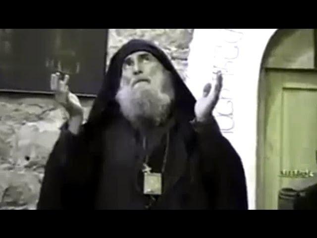 მამა გაბრიელი - ვიდეო ჩანაწერი არქივიდან