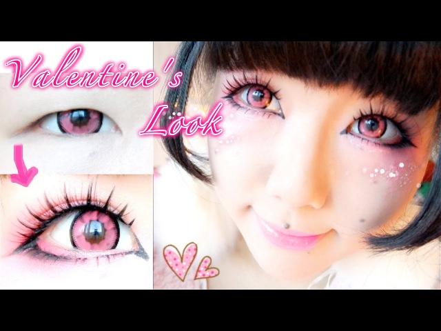 Pink Fairy Makeup Outfit ♡ ピンクのメイク❤ Vivekatt❤