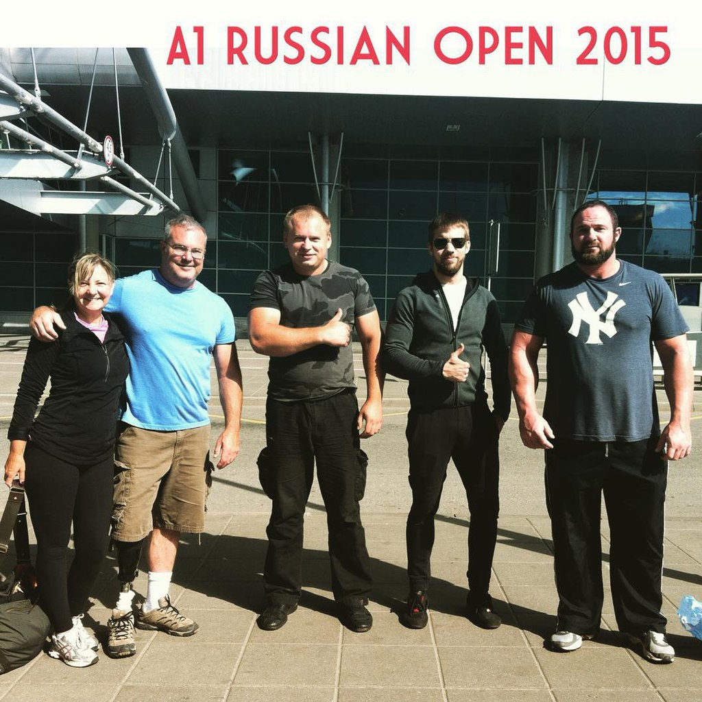 Bob Brown, Dave Chaffee before A1 Russian Open 2015 │ Image Source: Dima Kok
