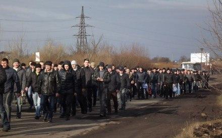 Шахтарі перекрили дорогу Львів-Ковель