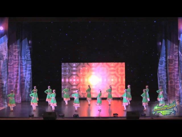 Л1 Образцовый ансамбль народного танца «Топотушки», пгт Куженер, Народная хореография, ансамбль, 13-15 лет