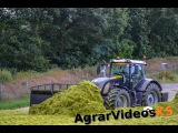 Grünroggen Ernte 2015 / Fendt 939 Black Beauty / Claas Jaguar 960/ 3x Fendt 720 mit Kaweco Radium 50