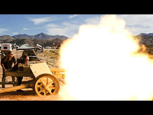 Firing the Most Powerful Anti-Tank Gun of WWII