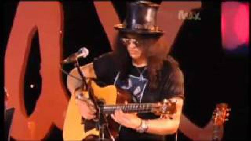 Sweet Child O' Mine - Rare Acoustic - Slash Myles Kennedy - Live Max Sessions 2010 HQ