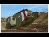 War Horse - Replica WWI Mark IV - Male Tank Build