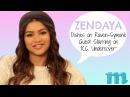 EXCLUSIVE: Zendaya Talks Working With Raven-Symoné