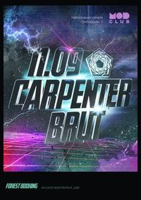 Carpenter Brut (FR) * 11.09 @ MOD