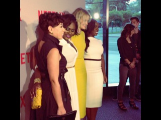 """Orange Is The New Black on Instagram: """"On the red carpet with our beautiful girls! #OITNB #NetflixFYC"""""""