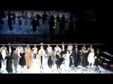 Поклоны в двух спектаклях Театра Вахтангова - Евгений Онегин - Римаса Туминаса 05.30.14 & 06.01.14