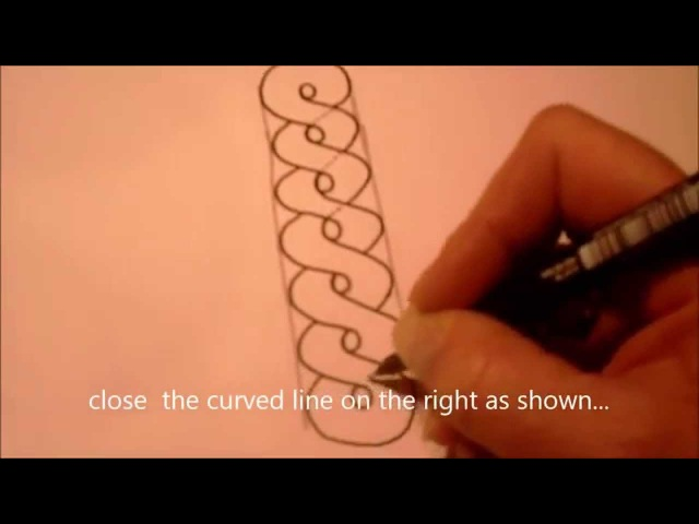 How to draw tanglepattern Annee