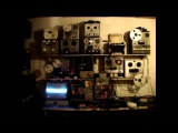 composition for modified toy piano, sine waves, tape recorders and other antique machines