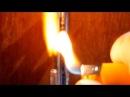 Неудачный эксперимент по получению водорода при взаимодействии алюминия и гидроксида натрия NaOH