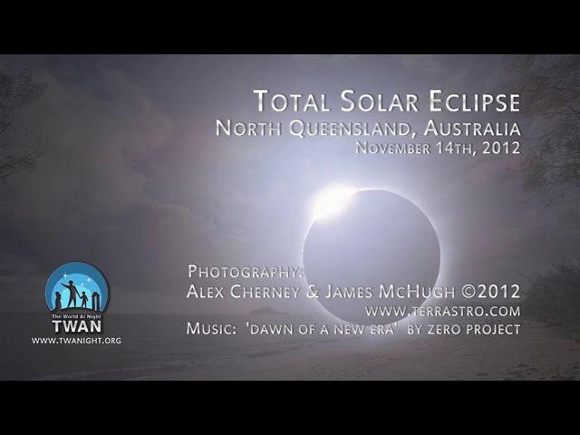 Total Solar Eclipse, November 14th 2012