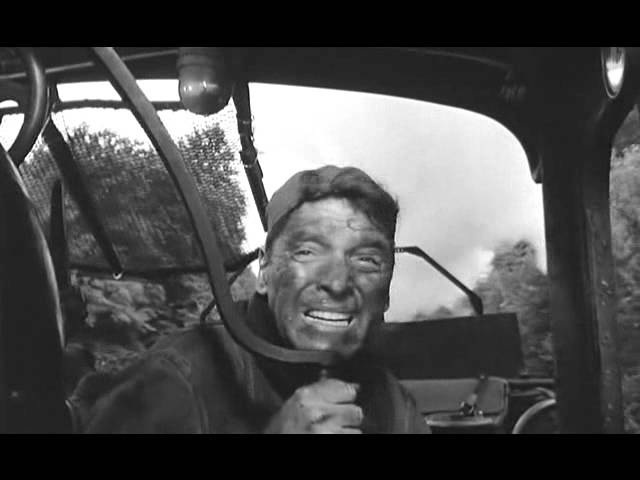 Burt Lancaster The Train 1964 Chased by Spitfire