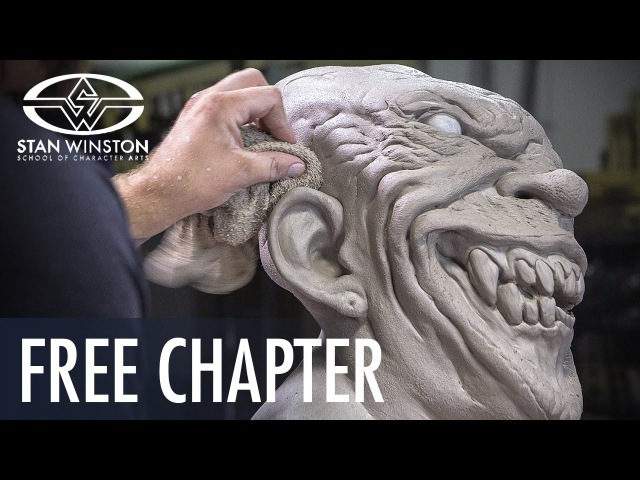 Latex Mask Sculpture: Sculpting Teeth Gums - FREE CHAPTER