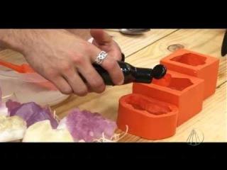 Sabonete pedras preciosas - Tudo Artesanal - 21 de Julho de 2012