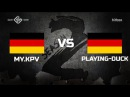 Game Show League. Season 2 - my.KPV vs Playing-Duck @ de_nuke
