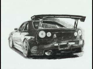 Speed Drawing (Скайлайн)