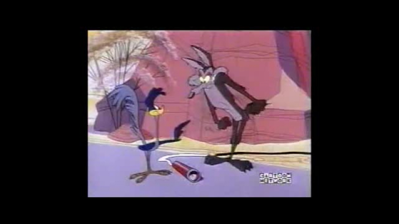 Road Runner Wile E Coyote by Futurezone.tv - 14 - Hip Hip-Hurry! [Personnalisé 640x274 AVC MP4]