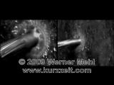 Потрясающее видео столкновения разных пуль с поверхностями. 1000000 кадров в секунду