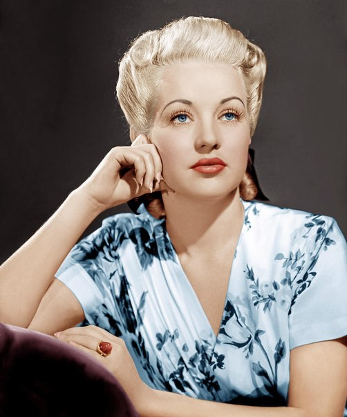 Betty Grable portret