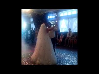 Перший весільний танець Олі та Яріка 12.09.2015