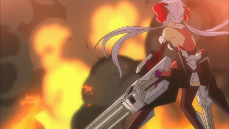 Makyuu Ichii-Bal (CV: Takagaki Ayahi)   Symphogear (7 episode)