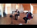 Концерт в городе ВЫБОРГ 24.04.2015 Петр Миронов(аккордеон) и Дмитрий Голованов(гитара)