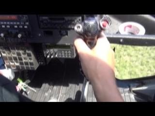 Вертолёт на Галапагосских островах
