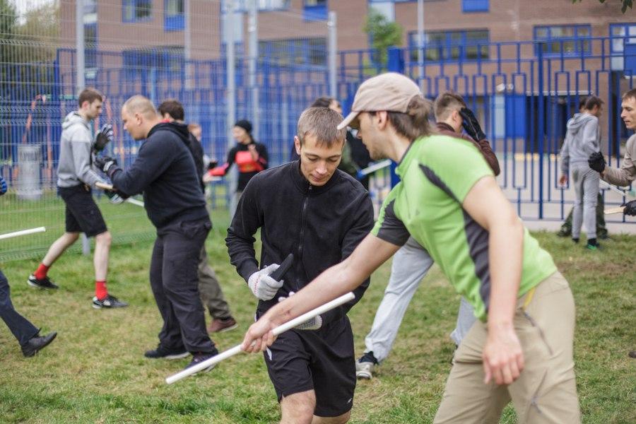 Открытая тренировка S.P.A.S. в Москве по ножевому бою