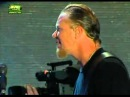 Metallica play Hallowed Be Thy Name and James says he loves Iron Maiden