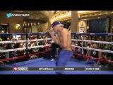 Victor Ortiz vs Manuel Perez  'Vicious' Vic shadowboxing  TrueHD