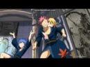 Хвост феи OVA 4 момент с Нацу и Люси