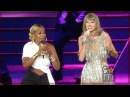 "Taylor Swift & Mary J Blige - ""Family Affair"" Clip at Staples Center"