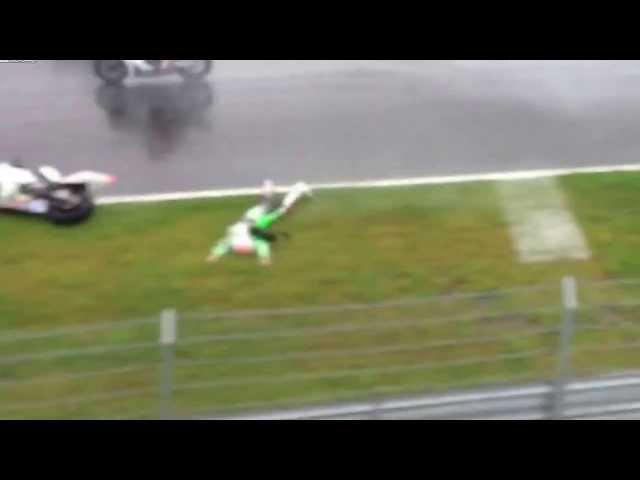 Новое видео Ужасной гибели гонщика Андреа Антонелли The death of a racer Andrea Antonelli